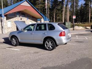 Porsche at Donner Pass 2